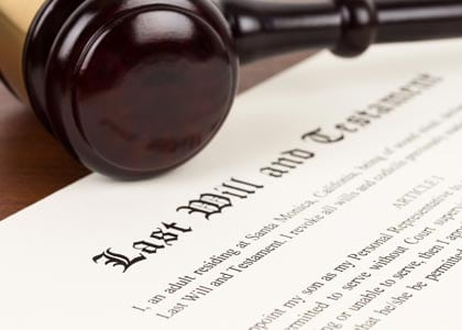 preparing a will, last will & testament, how to write a will, how to make a will